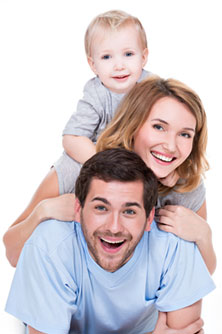 Immune System Supplements and Happy Family